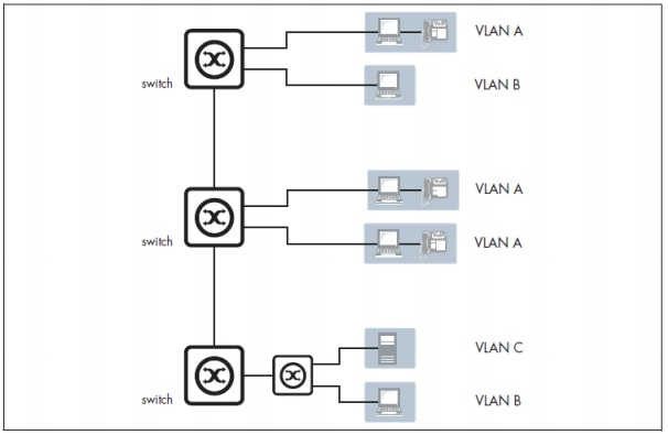 Figure 2: Segmented VLAN